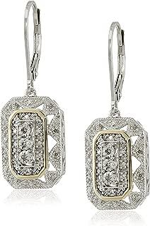 diamond style earrings