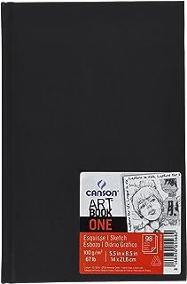Bloco Sketchbook e Esboço Canson One A5 14X21,6cm