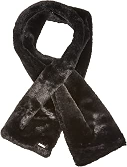 Calvin Klein - Faux Fur Pull Through Scarf
