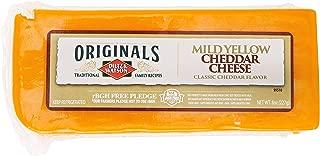 Dietz & Watson Originals Mild Yellow Cheddar Cheese Block, 8 oz