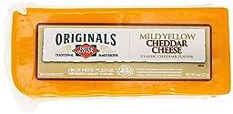 Dietz & Watson, Originals Mild Yellow Cheddar Cheese Block, 8 oz