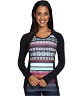 Hot Chillys - MTF Sublimated Print Scoop Neck Top