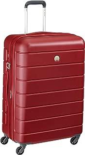 Delsey Paris 00387081004H9 Children's Hardside Luggage, Red, 66 Centimeters