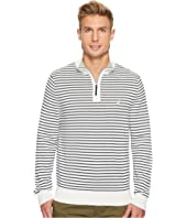 Nautica - 12 Gauge Striped 1/4 Zip