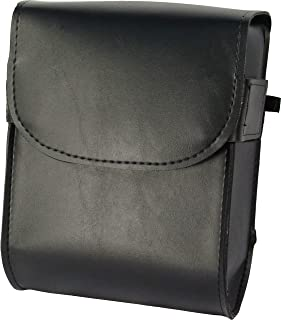 Willie & Max by Dowco 58472-00 Raptor Series: Synthetic Leather Motorcycle Sissy Bar Bag, Black, Universal Fit, 6 Liter Ca...
