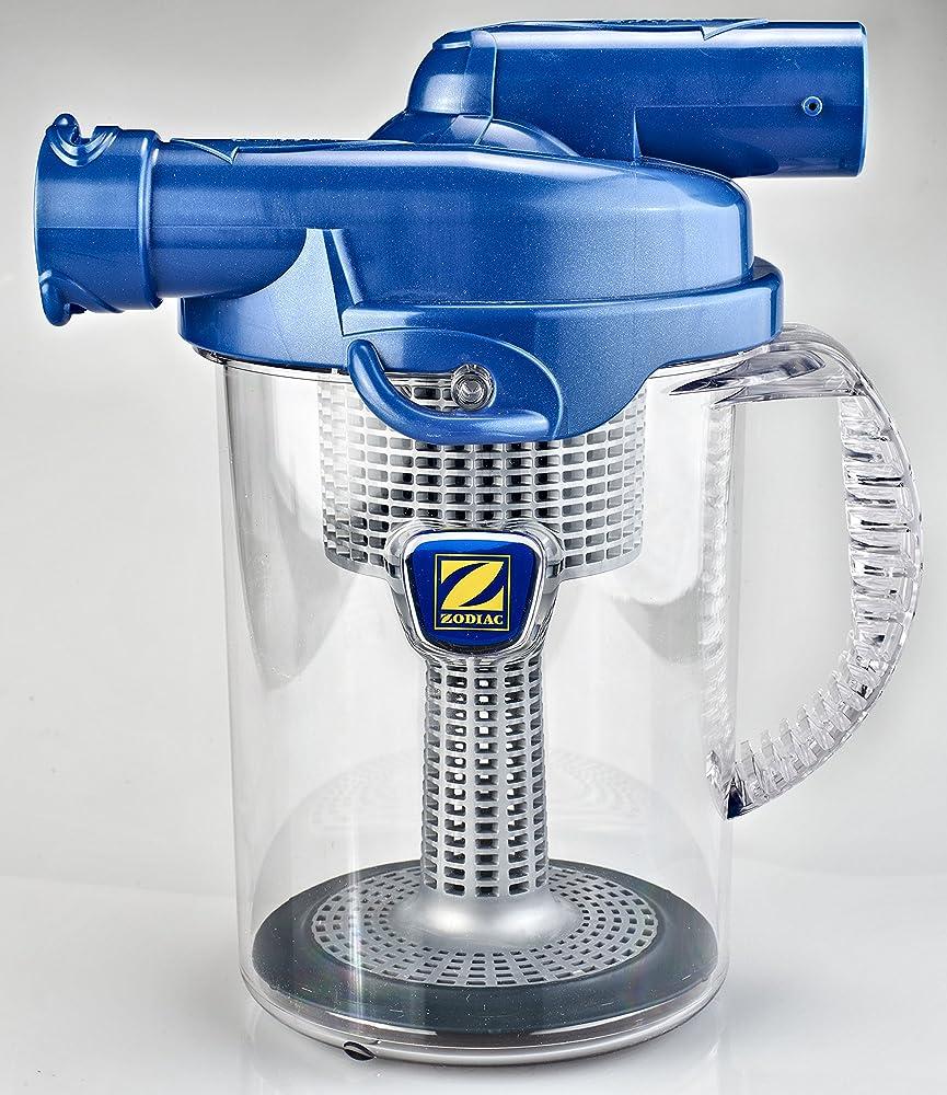 Zodiac cattura foglie, ad aspirazione ciclonica, per robot pulitori idraulici, blu W37110