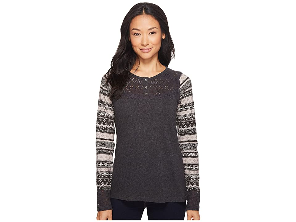 Aventura Clothing Morgan Long Sleeve (Black) Women