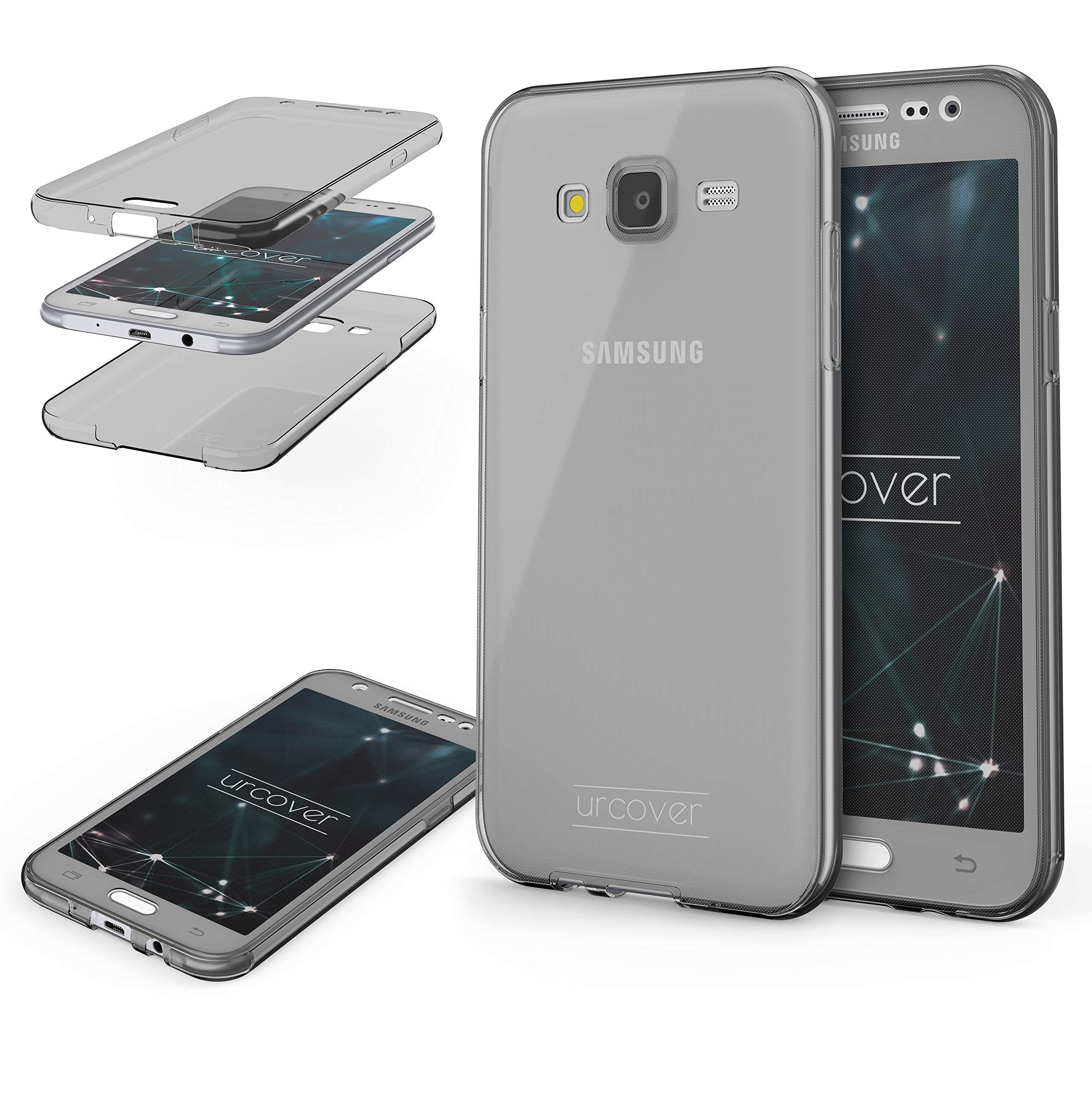 Urcover Funda Compatible con Samsung Galaxy J5 (2015) Carcasa Protectora 360 Grados Silicona Gel en Transparente Full Body Protección Completa Delantera/Trasera: Amazon.es: Electrónica