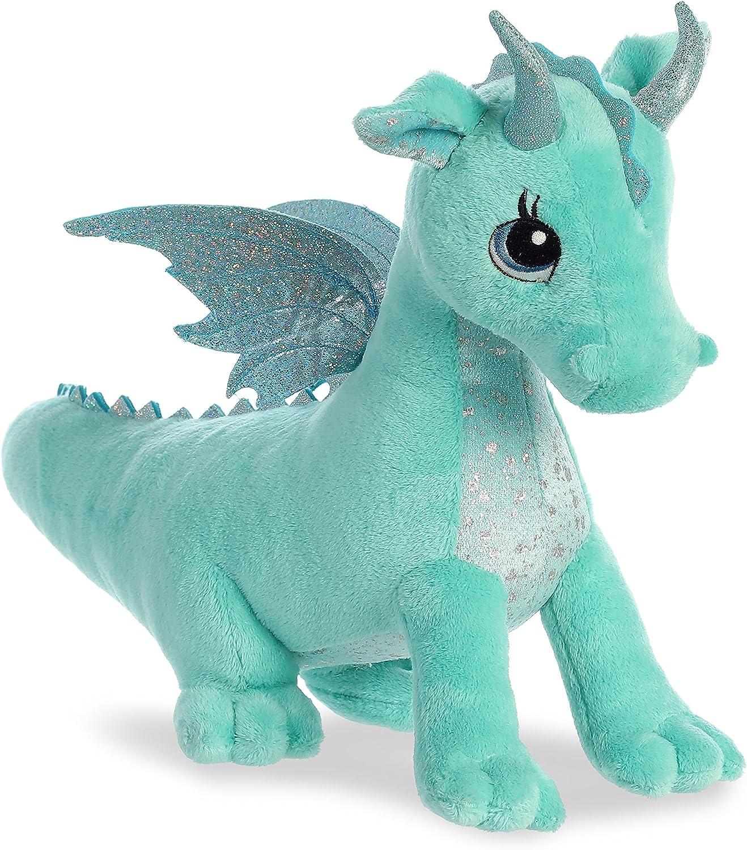 Aurora Willow Dragon Sparkle Tales Plush Dragon 12