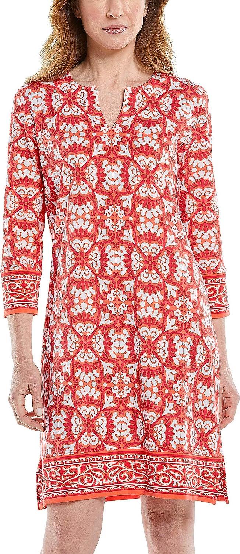 Coolibar UPF 50+ Women's Oceanside Tunic Dress - Sun Protective