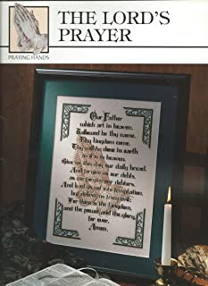 The Lord's Prayer, Cross Stitch Design (Praying Hands #24003)