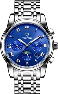 Tevise Casual Watch For Men Analog Stainless Steel - 9005G-SBL
