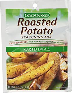 Concord Foods Roasted Potato Seasoning Mix (1 packet - seasons 5 pounds of potatoes)