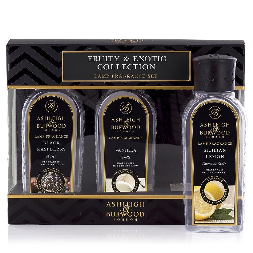 新しい意味スクワイアピストンAshleigh&Burwood ランプフレグランス フルーティー&エキゾチック3本セット Lamp Fragrances Fruity&Exotic アシュレイ&バーウッド