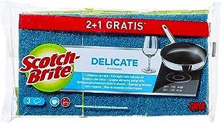 Scotch-Brite Éponge Laminé 2+1 unidades Bleu-ne Raye Pas