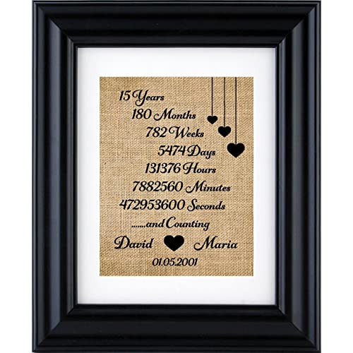 15Th Wedding Anniversary Gifts For Her   15th Wedding Anniversary Gifts Amazon Co Uk