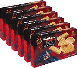 Walkers Shortbread Assorted Shortbread Cookies, 8.8 Ounce Box (Pack of 6)