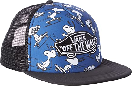 6ac5ca79cc4 Vans Peanuts True Navy Classic Patch Trucker Plus Snapback Cap