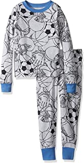 The Children's Place Boys' Long Sleeve Top Pants Pajama Set