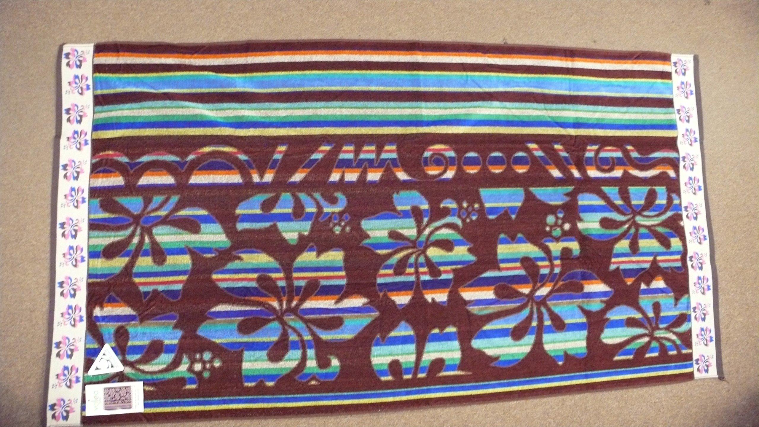 TOALLA PLAYA - PISCINA 100% ALGODON EGIPCIO 95 X 175 CM BROWN ...