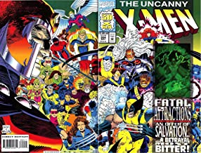 The Uncanny X-men No. 304 Special Hologram Cover 1993 Fatal Attractions 30th Anniversary Edition
