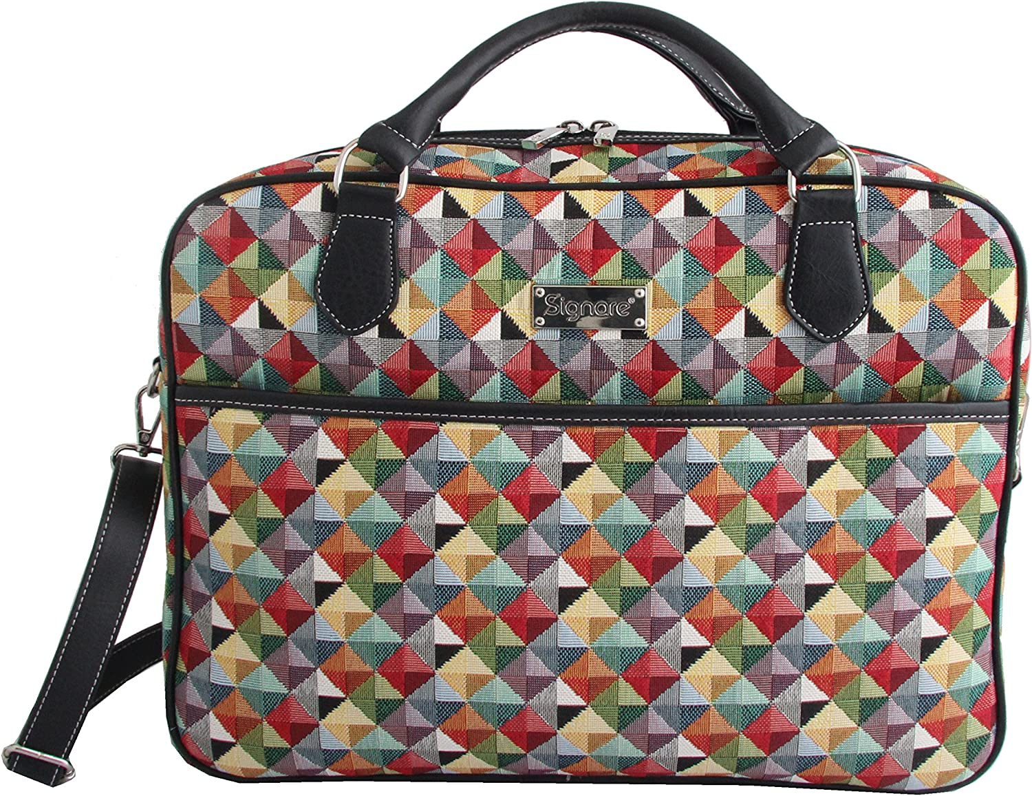 CSignare Large-scale sale Dallas Mall Tapestry Laptop bag briefca 15.6 computer messenger