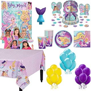 Children/'s Birthday Party 2 Ply Napkins Barbie Theme Birthday Partyware Party