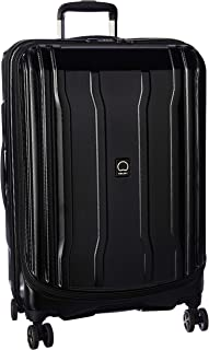 DELSEY Paris Cruise Lite Hardside 2.0 Expandable Luggage, Spinner Wheels, Black, Checked-Medium 25 Inch
