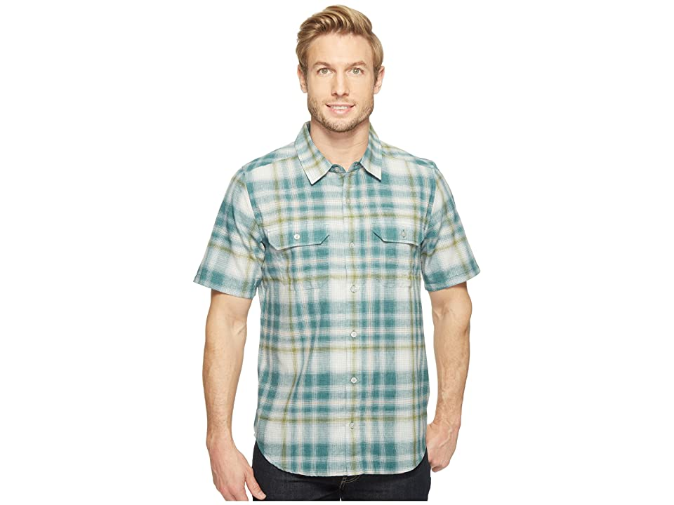 Toad&Co Hookline Short Sleeve Shirt (Hydro) Men