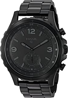 Fossil Q Nate Gen 2 Hybrid Black IP Stainless Steel Smartwatch