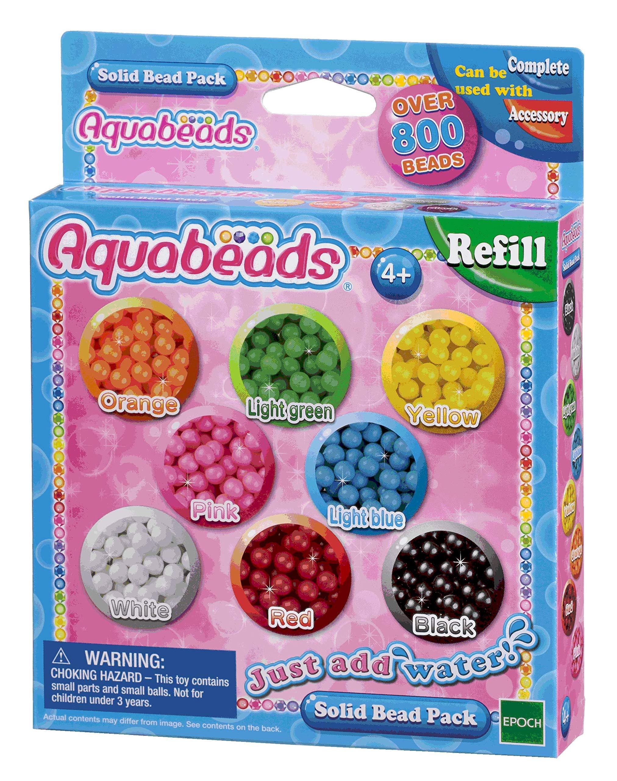 Aquabeads - 79168 - Pack Abalorios sólidos: Amazon.es: Juguetes y juegos
