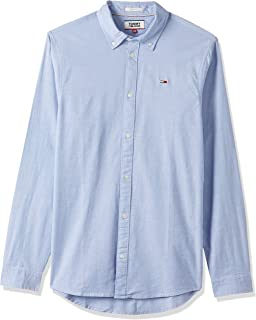 Tommy Jeans Men's Tjm Stretch Oxford Shirt