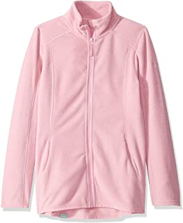 Roxy SNOW Big Harmony Girl Zip Up Fleece, Prism Pink