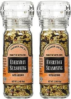 Trader Joe's Everyday Seasoning with Grinder 2.3 oz Pack of 2