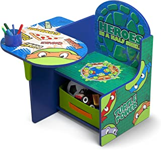 Delta Children Chair Desk With Storage Bin, Ninja Turtles