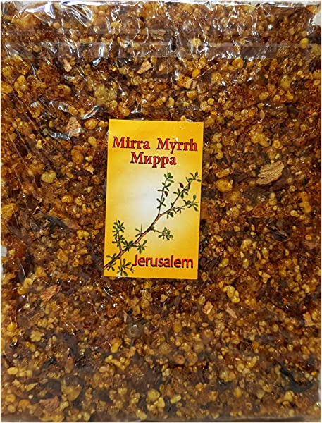 Jerusalem Frankincense Myrrh Incense Aromatic Resin Of The Holy Land 3 5 Oz 100 G