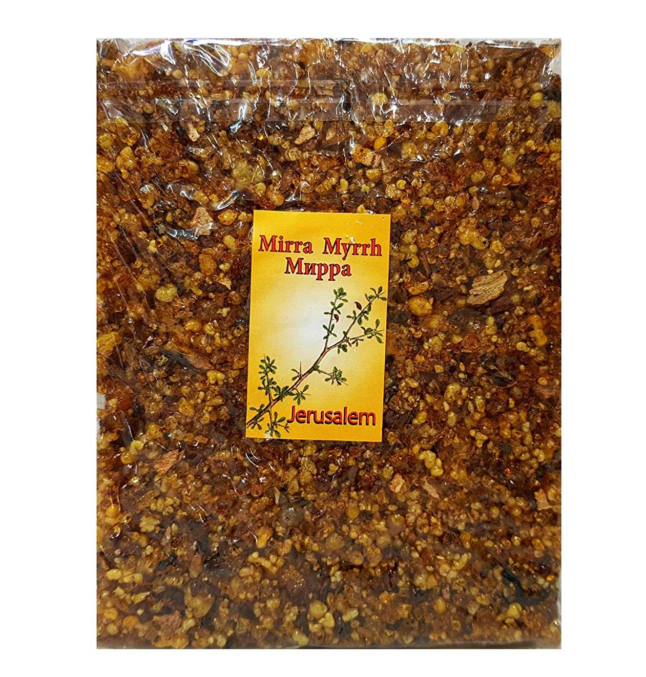 有効誤解担当者エルサレムFrankincense Myrrh Incense aromatic樹脂of the Holy Land 3.5?Oz/100?g