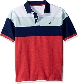 Nautica Boys 81719Q Jersey Stripe Polo Short Sleeve Polo Shirt