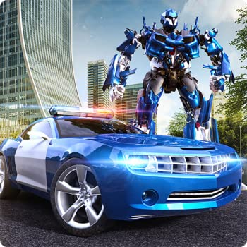 Robot Hero Police Car Transform Racing & Shooting Game  Kill Deadly Gangster In Fighting Police Simulation Action Adventure Game 2018