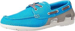 crocs Men's Beach Line Lace-up Boat Shoe