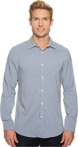 Perry Ellis - Mini Check Total Stretch Dress Shirt