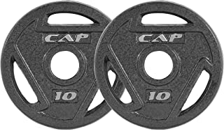 CAP Barbell 2-Inch Olympic Grip Plate, Various Sizes