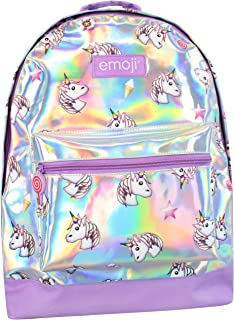 Girls Emoji Unicorn Backpack