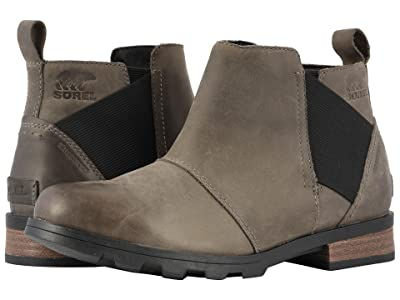 SOREL Emelie Chelsea (Quarry/Black) Women