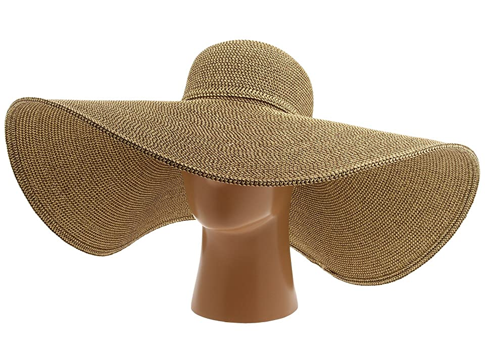 Women's Vintage Hats | Old Fashioned Hats | Retro Hats San Diego Hat Company - UBX2535 Ultrabraid XL Brim Sun Hat Multi Brown Traditional Hats $44.00 AT vintagedancer.com