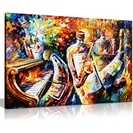 2006 Canvas Wall Art Print Jazz Home Decor New Orleans