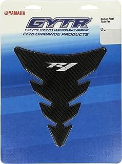 Yamaha 14B-F41D0-V0-00 Carbon Fiber Look Tank Pad for Yamaha YZF-R1