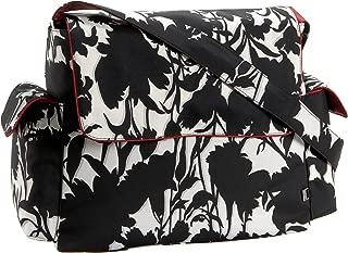 oioi floral messenger diaper bag