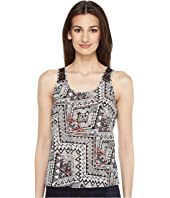 Roper - 0858 Aztec Print Sleeveless Shirt