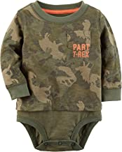 Carter's Baby Boys' T-Rex Double-Decker Bodysuit